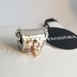 PANDORA Rose 2019 Club Charm Sterling Silver